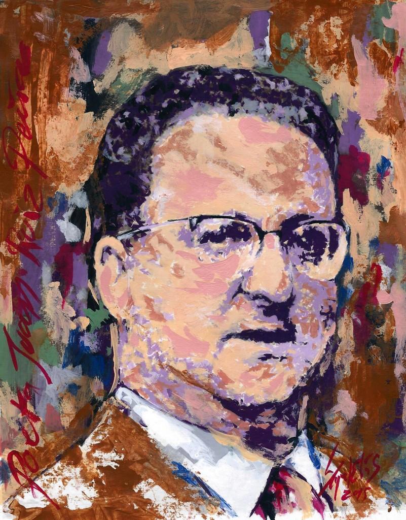 Retrato de Juan Ruiz Peña
